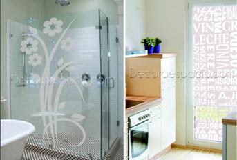Informaci n vinilos decorativos - Papel adhesivo para cristales ...